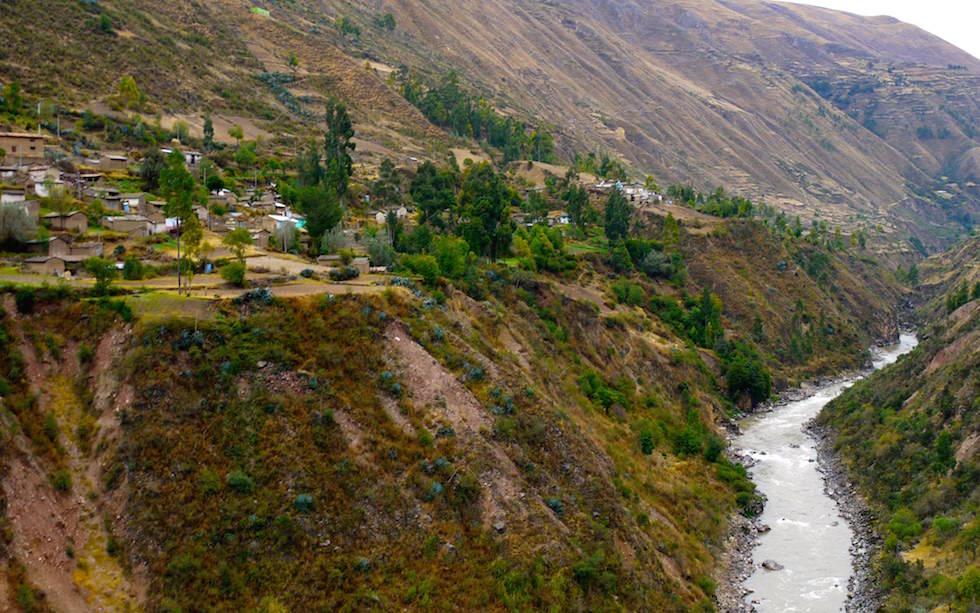 Huancayo nach Huancavelica mit der Schmalspurbahn in Peru