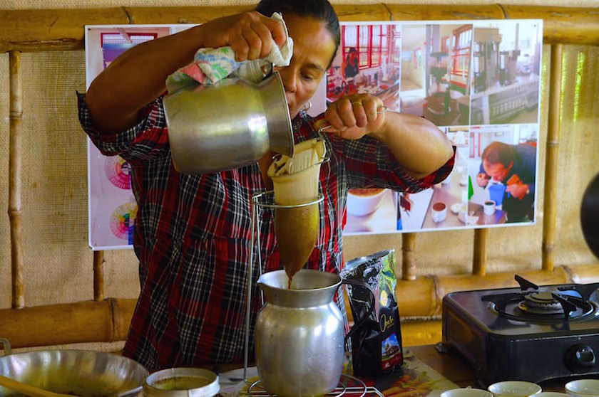 Salento Kolumbien - Kaffeplantage