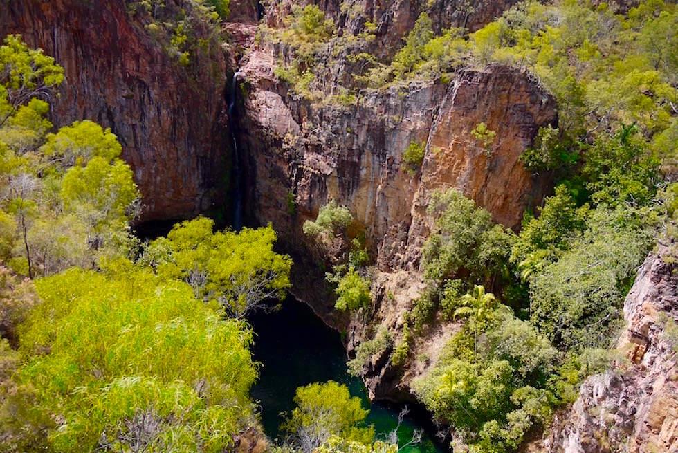 Litchfield National Park: Die Schluchten der Tolmer Falls zur Trockenzeit - Northern Territory