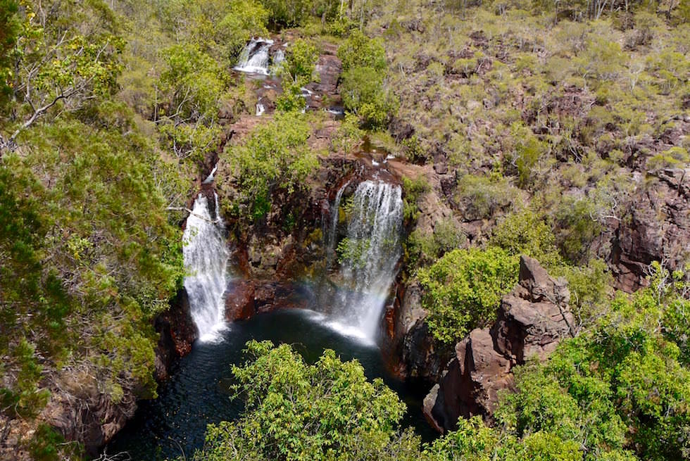 Florence Falls in der Trockenzeit - Litchfield National Park - Northern Territory
