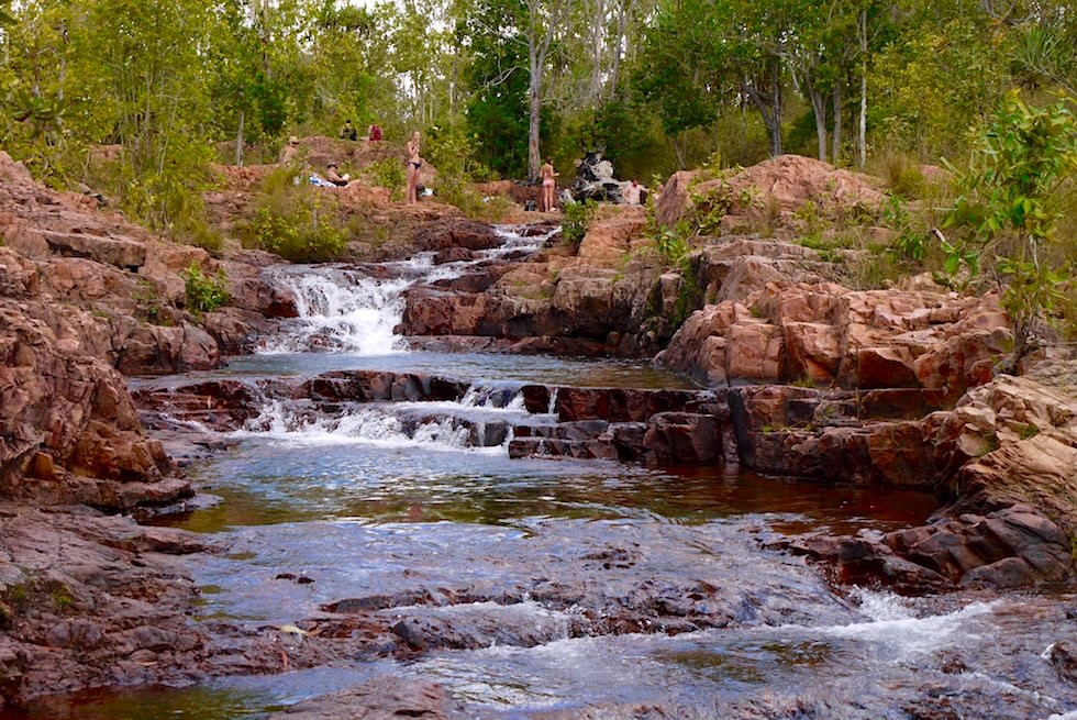 Burley Rockhole in Dry Season - Litchfield NP - Northern Territory