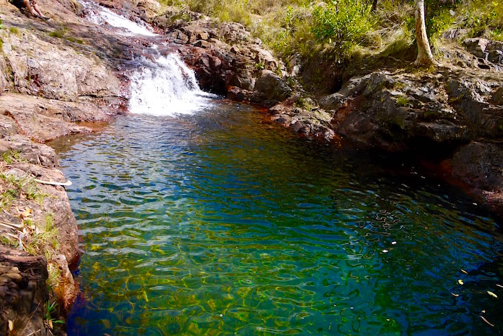 Burley Rockhole: die Gegenstrompool Challenge - Litchfield National Park - Northern Territory