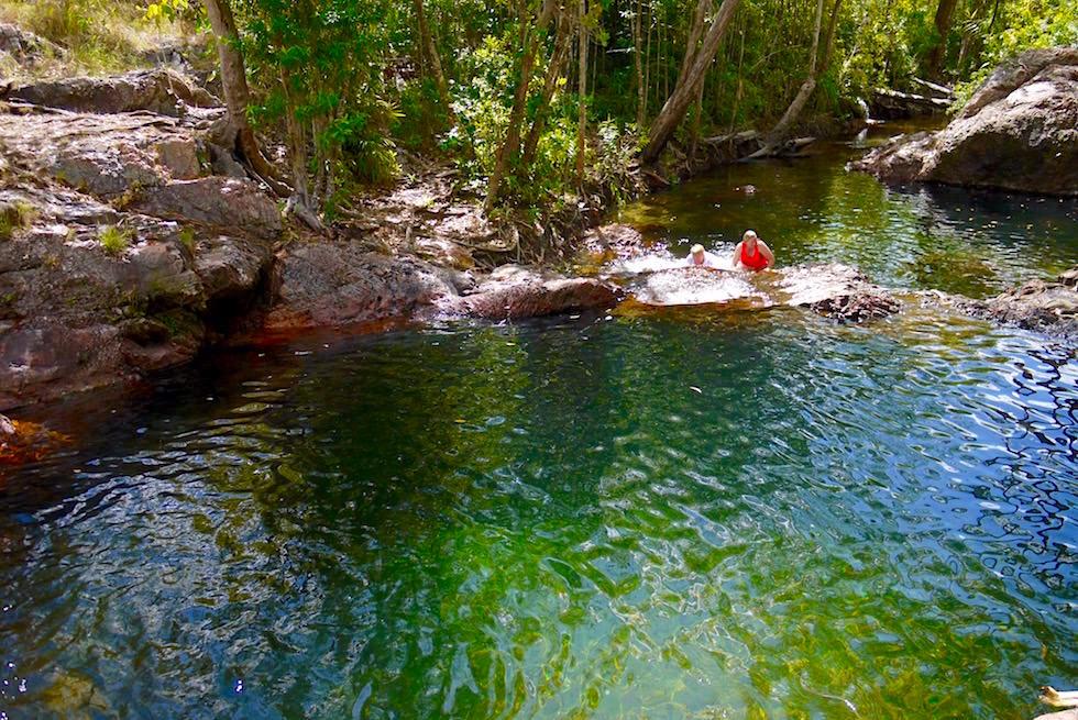 Lichtfield National Park: Grandiose natürliche & krokodilfreie Badepools - Buley Rockhole - Northern Territory