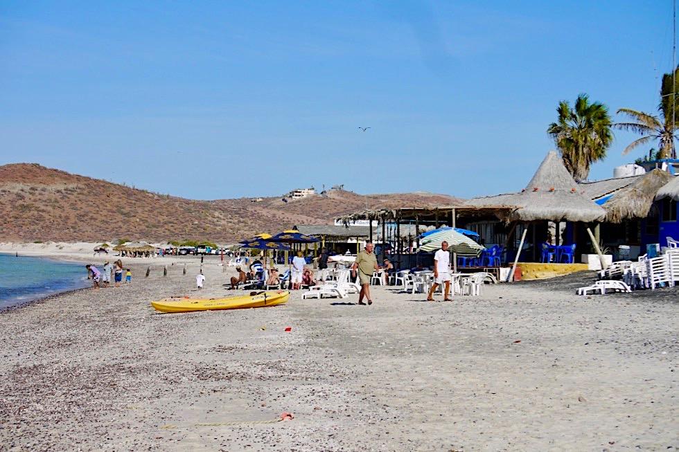 Playa El Tecolote: schöner Sandstrand bei La Paz Baja California - Mexiko