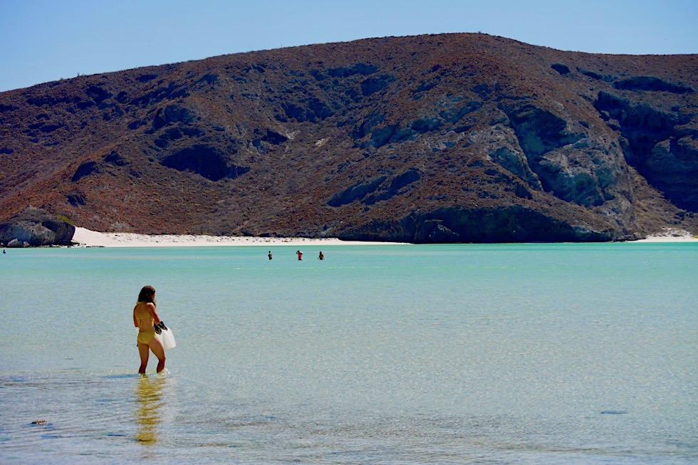 Punta Balandra - Felsen & extrem flache Traumbucht - La Paz Baja California - Mexiko