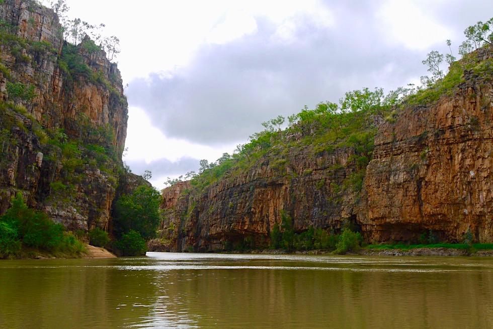 Faszinierende Steilwände der 2. Katherine Gorge - Nitmiluk National Park - Northern Territory