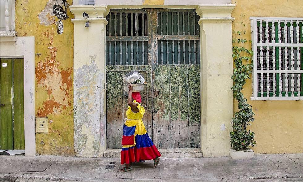 Cartagena Straßenverkäufer - Kolumbien