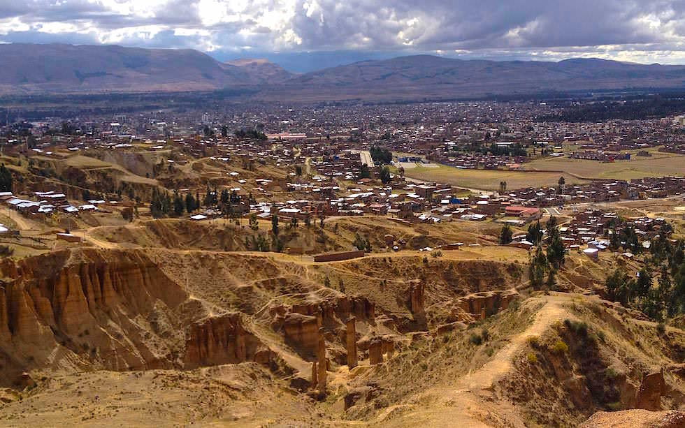 Huancayo - Torre Torre - Sandsteintürme - Mountain-Biken Peru