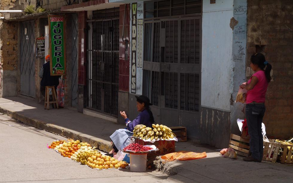 Huancayo in der Hochebene Peru - Altiplano