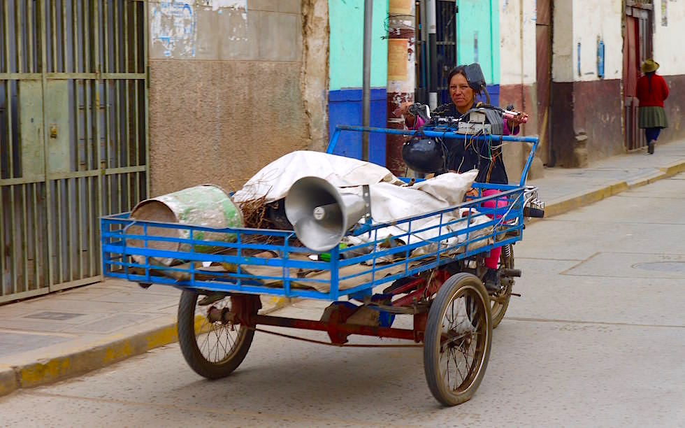 Straßenszene - Huancavelica -Peru