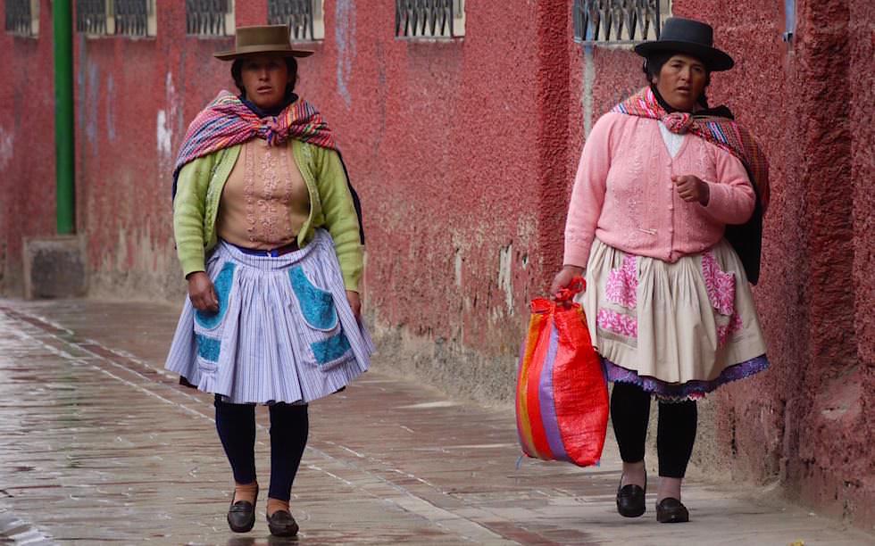 Streets of Huancavelia Peru