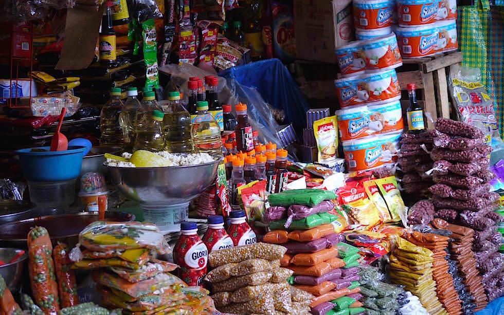 Markt Huancavelia Peru