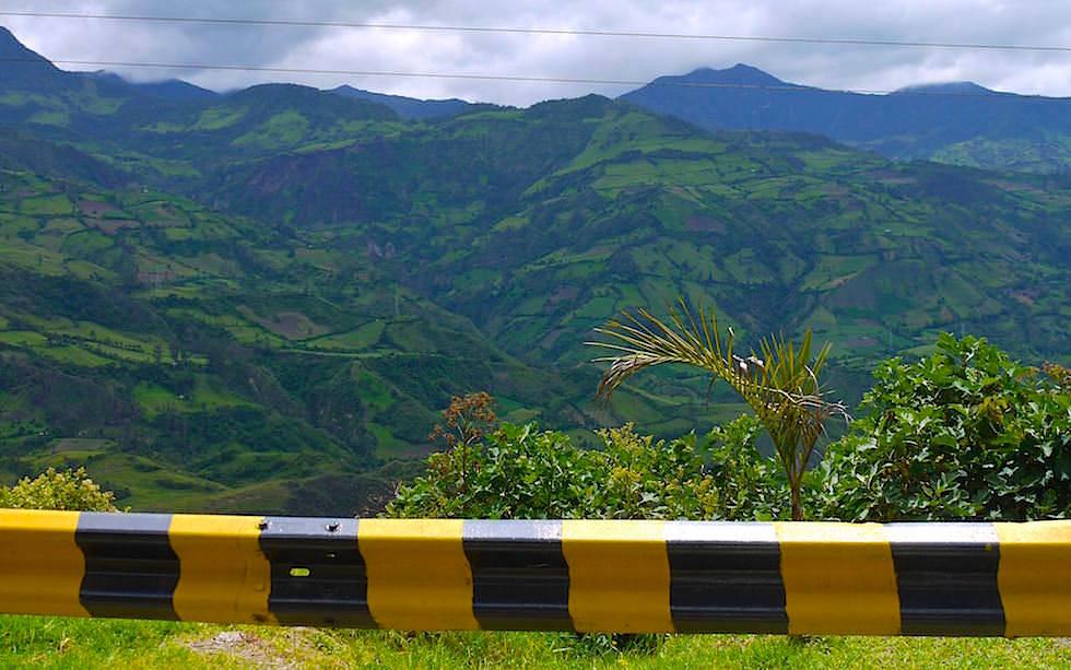 zwischen Ipiales und Popayan Kolumbien