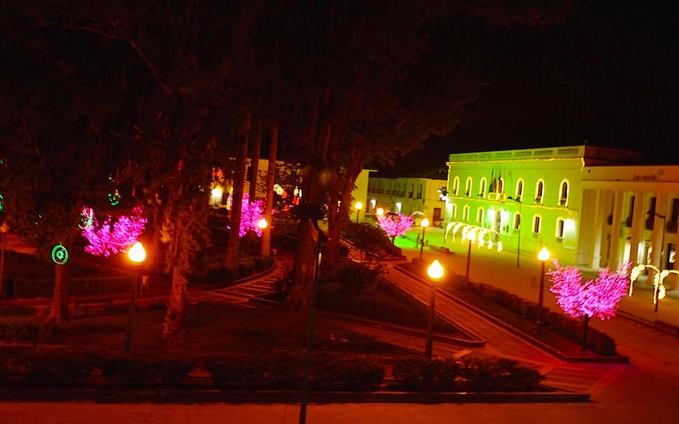 Popayan bei Nacht - Kolumbien - Weisse Stadt