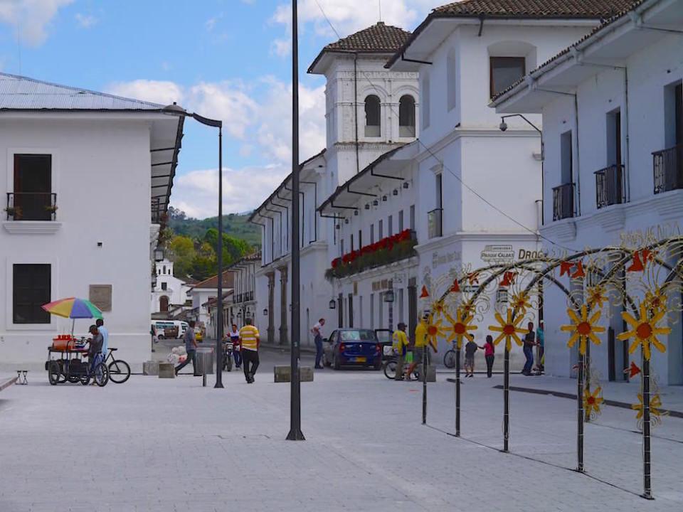 Popayan - Kolumbien - Weisse Stadt