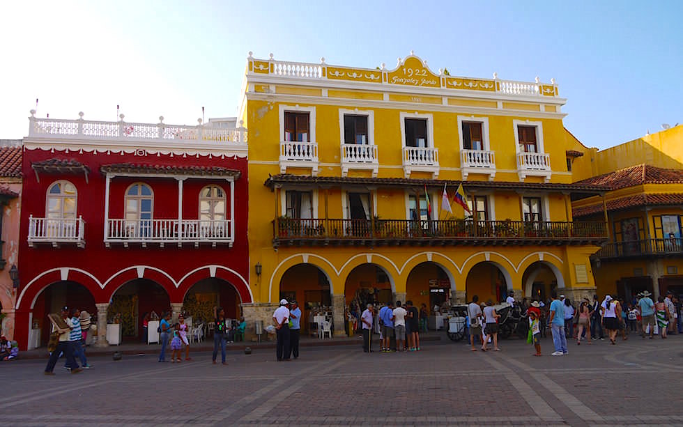 Historical city of Cartagena Colombia