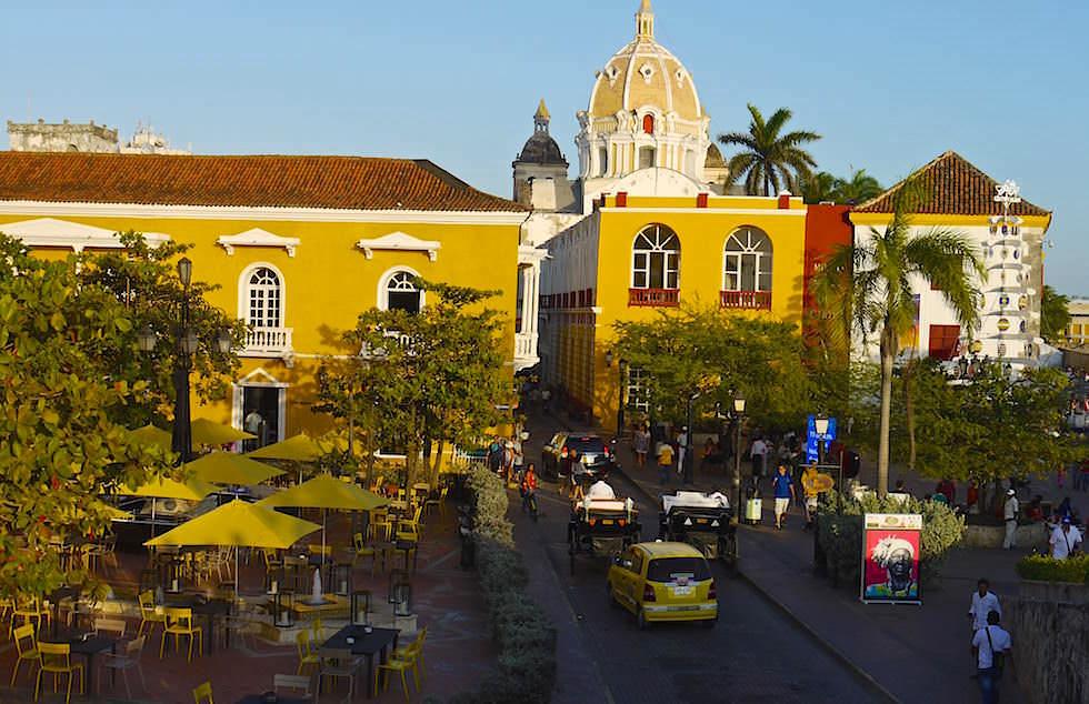 Cartagena Kolumbien Altstadt