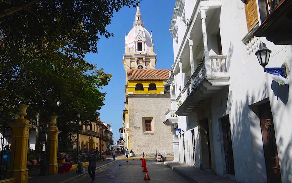 Historische Altstadt Cartagena Kolumbien