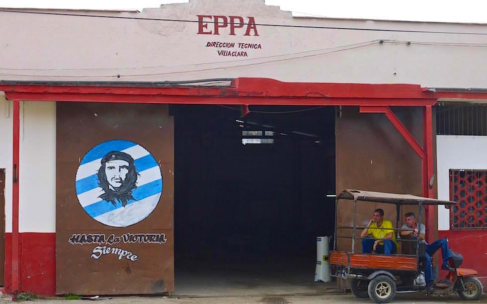 Propaganda Che in Santa Clara Kuba