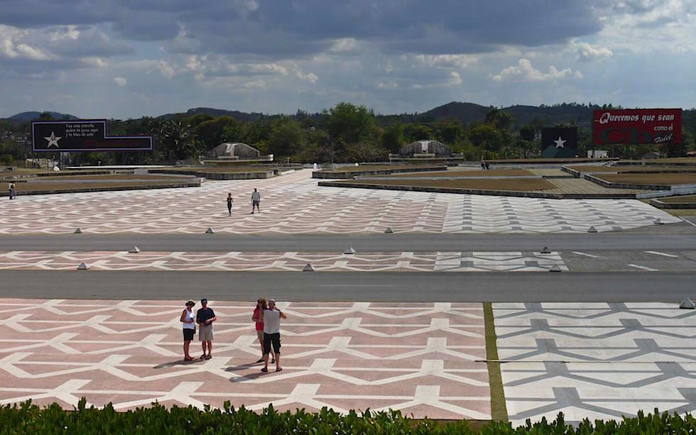 Platz der Revolution in Santa Clara Kuba