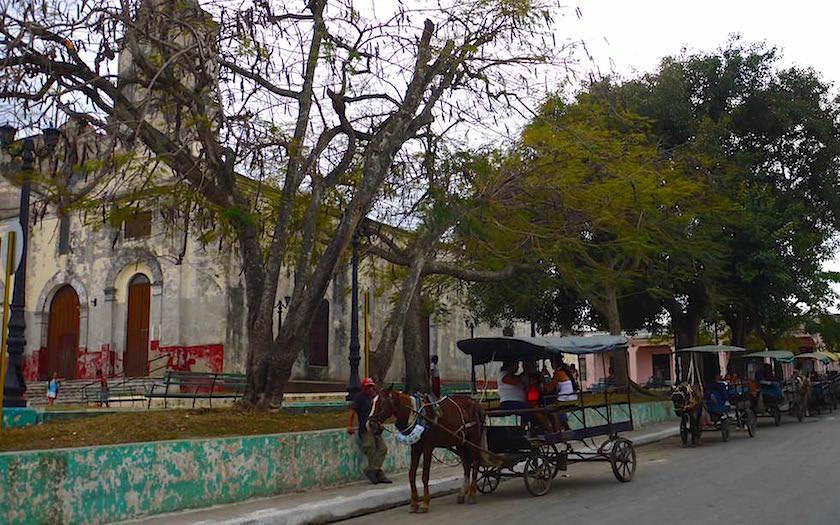 Pferdegespann in Santa Clara Kuba
