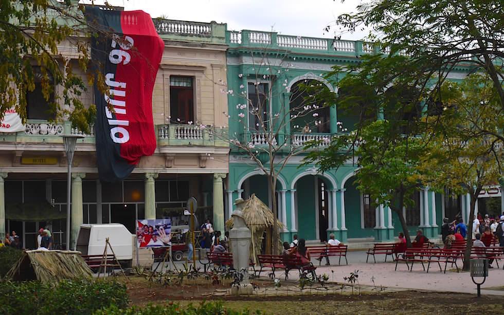 Hauptplatz in Santa Clara Kuba