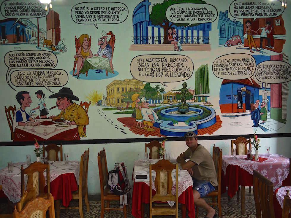 Restaurant in Santa Clara Kuba