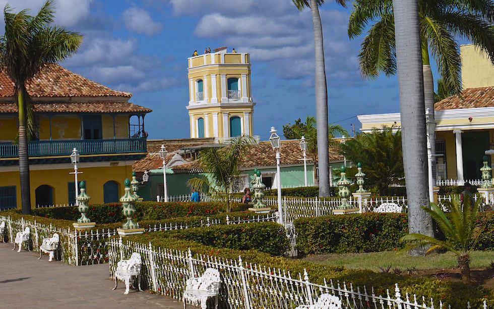 Plaza Mayor in Trinidad Kuba