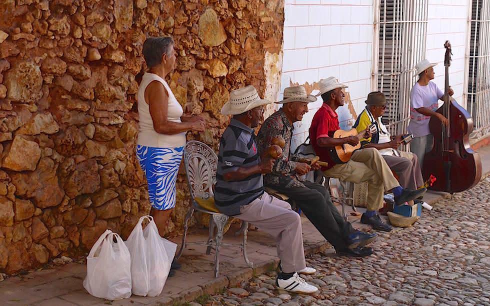 Straßenmusik in Trinidad Kuba