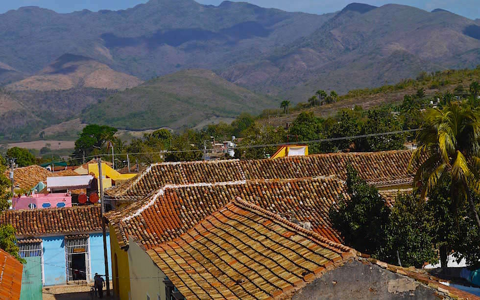 View from museum in Trinidad Cuba
