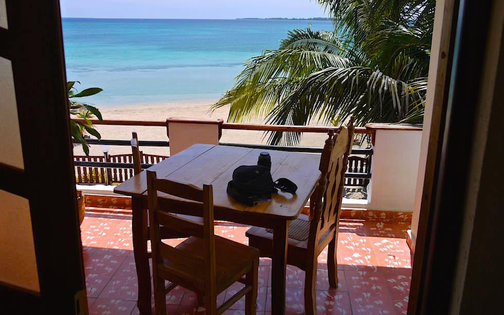 Blick von der Terrasse - Casa Particulares Playa Larga Schweinebucht Kuba