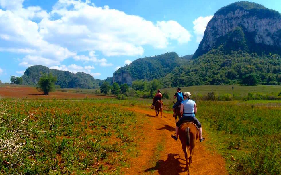 Pferdeausritt Vinales Kuba