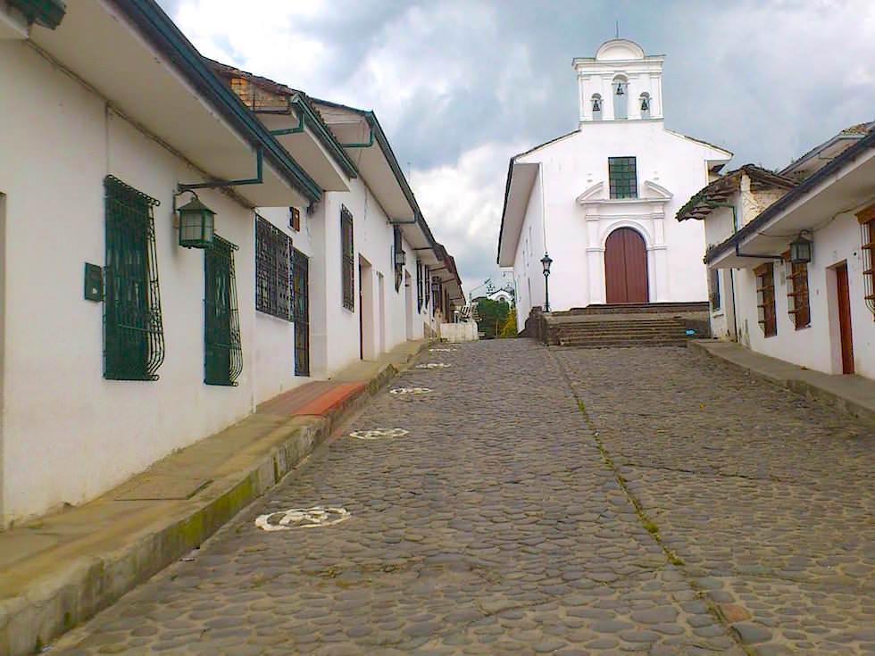 Straßen von Popayan - Kolumbien - Weisse Stadt
