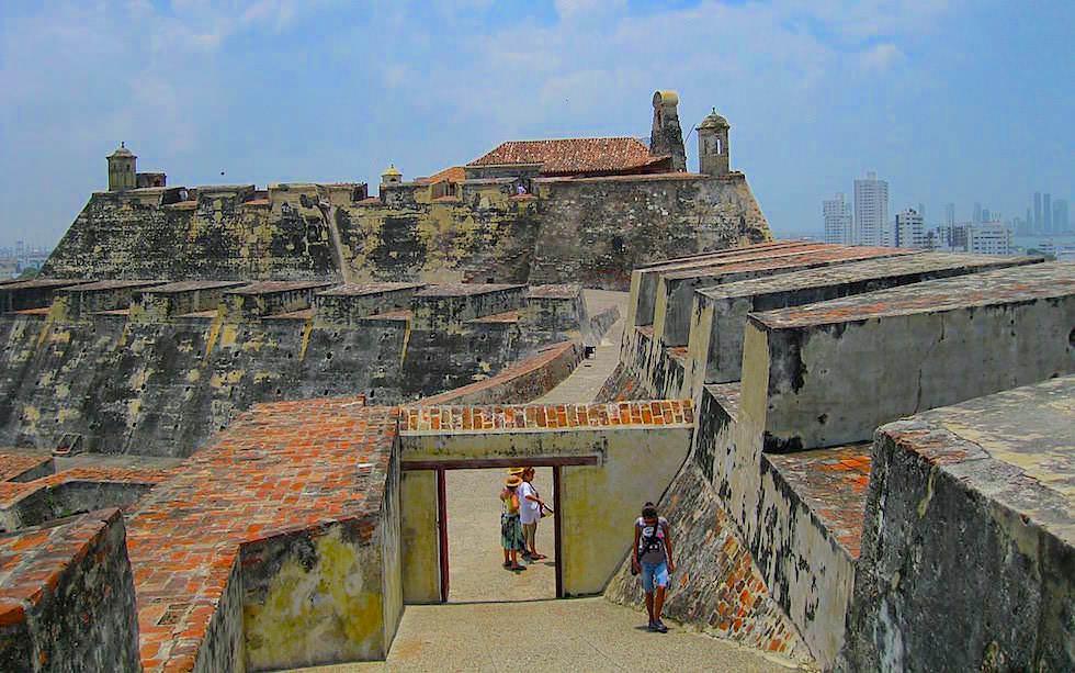 Festungsanlage Cartagena Kolumbien