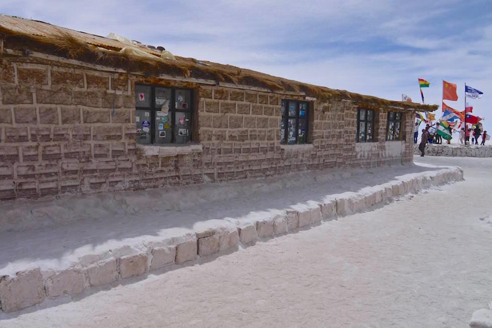 Salar de Uyuni Bolivien - Salzhotel Playa Blanca