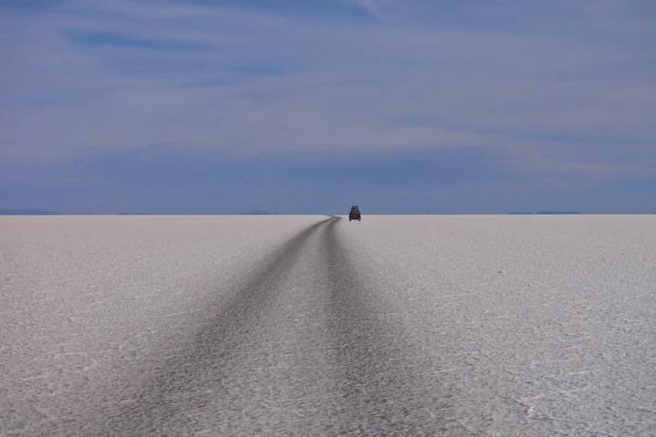 Salar de Uyuni Bolivien - Jeep Tour über den größten Salzsee der Welt