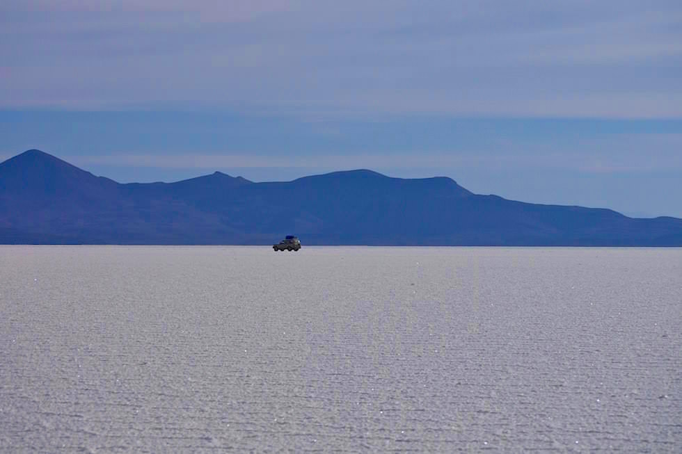 Salar de Uyuni Bolivien - unendliche Salzwüste