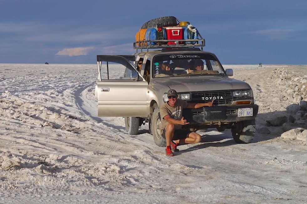 Salar de Uyuni Bolivien - Jeep Tour durch die Salzwüste