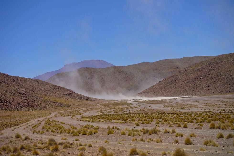 Windhosen im Altiplano Bolivien