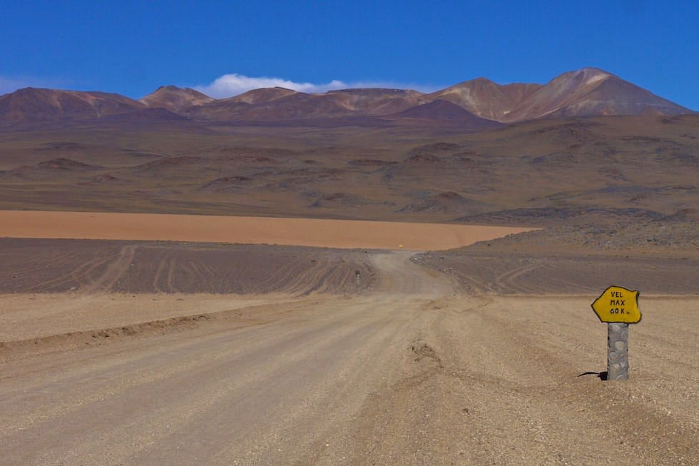 Altiplano Roads in Bolivien