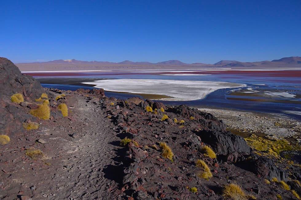 Wanderweg Laguna Colorada Bolivien
