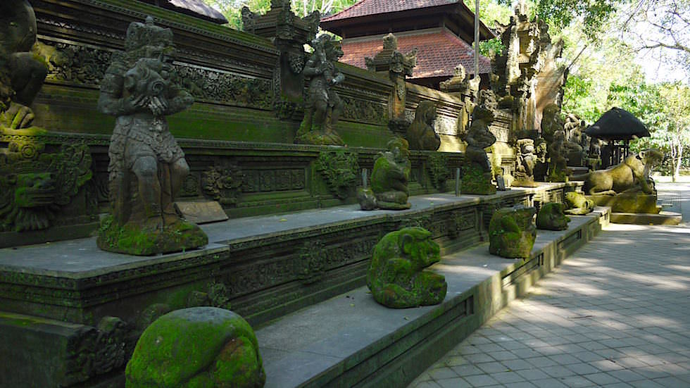 Pura Dalem Agung Padangtegal - Monkey Forest in Ubud, Bali