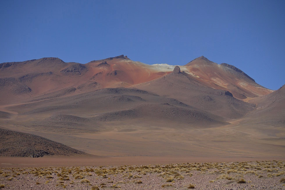 Colored Mountains Altiplano Bolivia