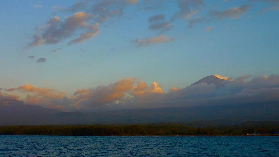 Blick auf den Mt. Rinjani - Lombok Indonesien