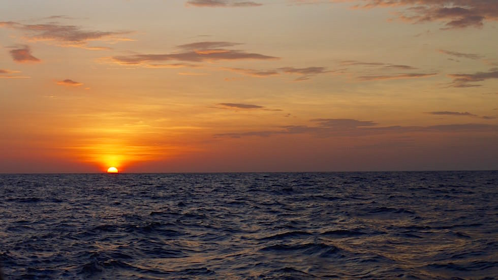 Sun Set Boat Trip to Komodo Indonesien