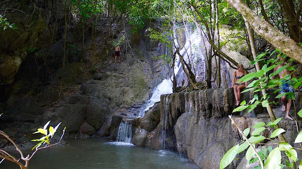 Moyo Island Wasserfall Indonesien
