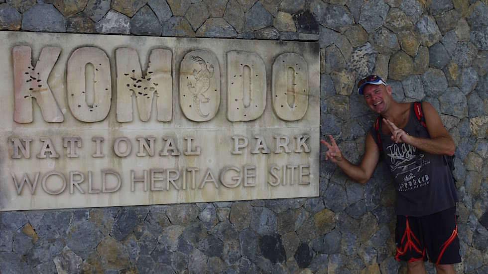 Komodo Island Komodo Nationalpark Indonesien