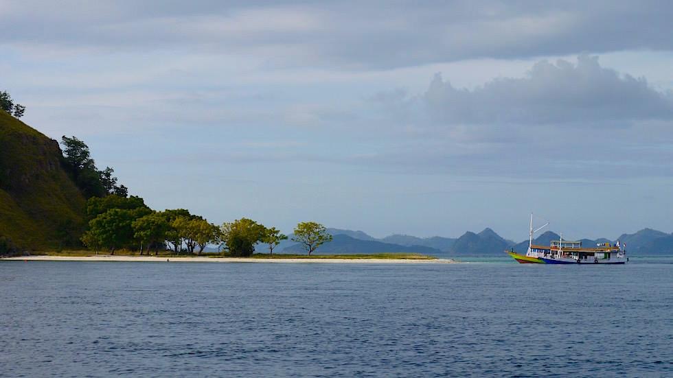 Insel in der Nähe von Flores Indonesien