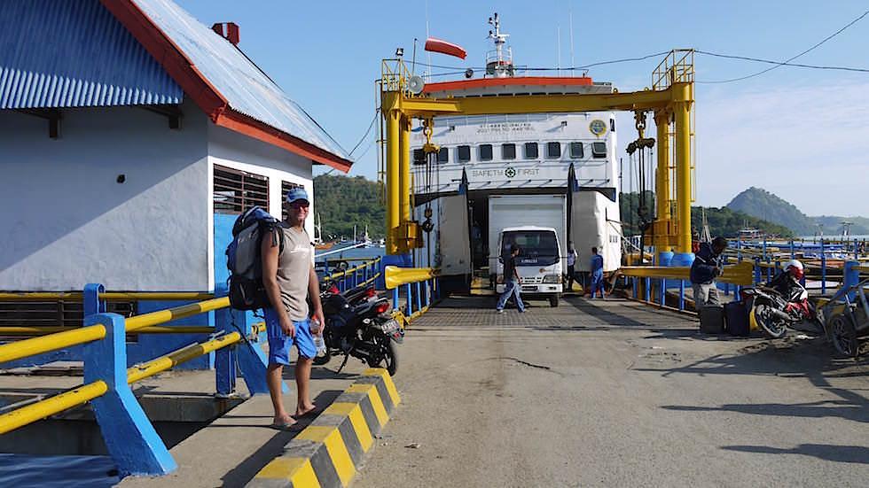 Labuan Bajo Flores Fähre nach Sumbawa Indonesien
