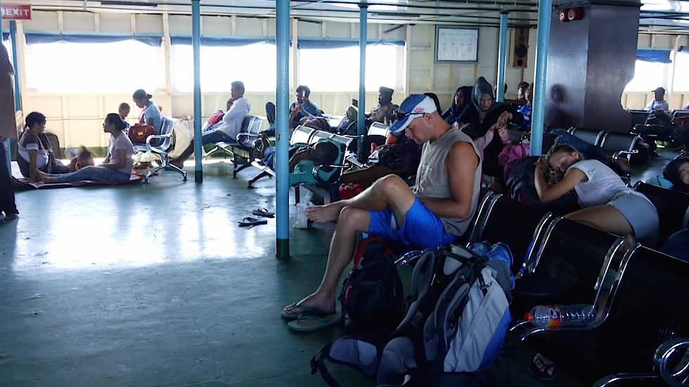 Fähre Sumbawa nach Lombok Indonesien